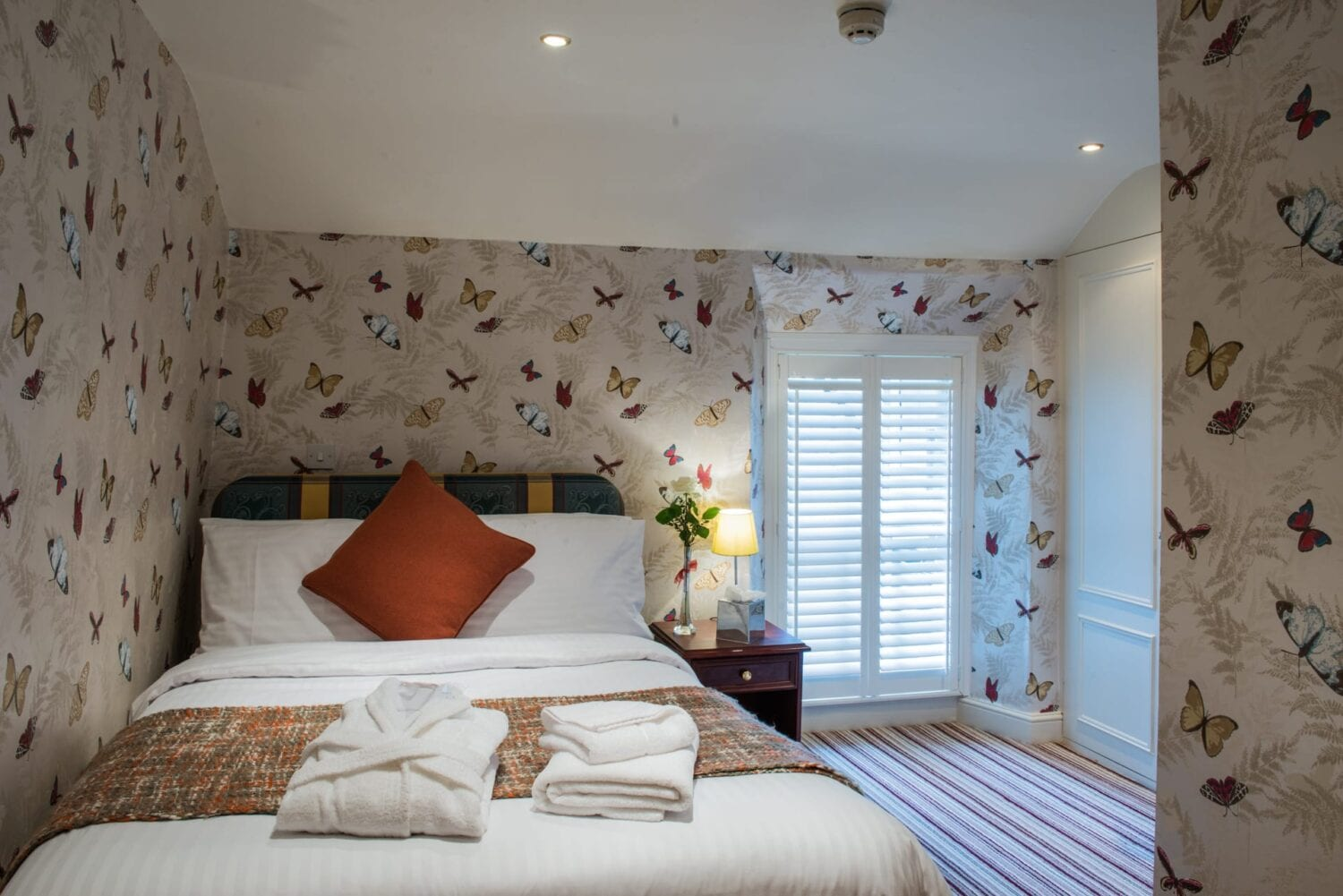 Hotel Bedroom at The Bear, Cowbridge